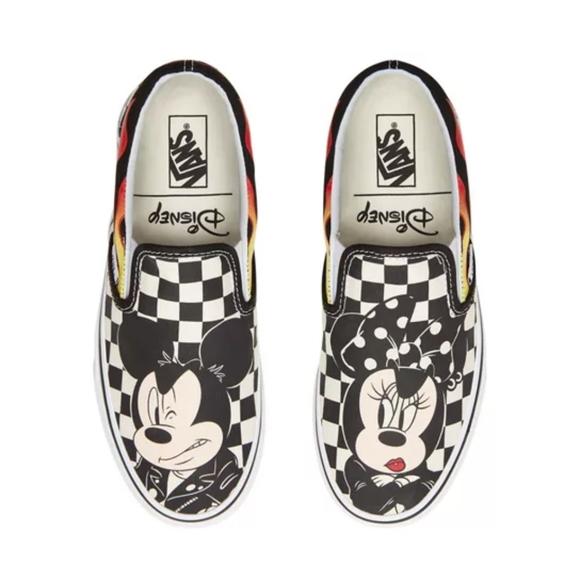 X Disney Flame Checker Mickey Minnie